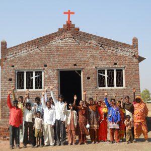 Construcţie de biserici în India
