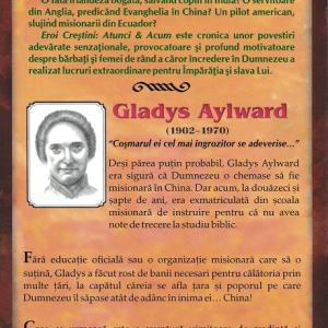 Agenția Kairos - Gladys Aylward - Back