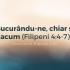 Bucurându-ne, chiar și acum (Filipeni 4:4-7) – Devoțional, 8 aprilie 2020