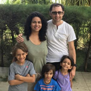 Salutări din Brazilia! – Fernando Frîncu și familia