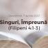 Singuri, Împreună (Filipeni 4:1-3) – Devoțional, 7 aprilie 2020