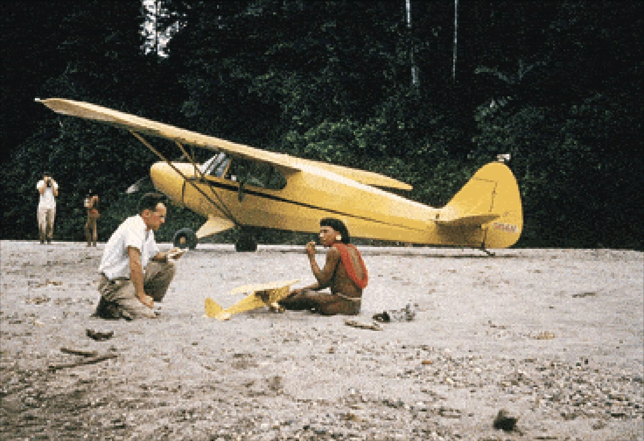 O fotografie reală făcută de unul dintre cei cinci misionari.