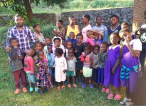 Grupa de copii din Nsanama